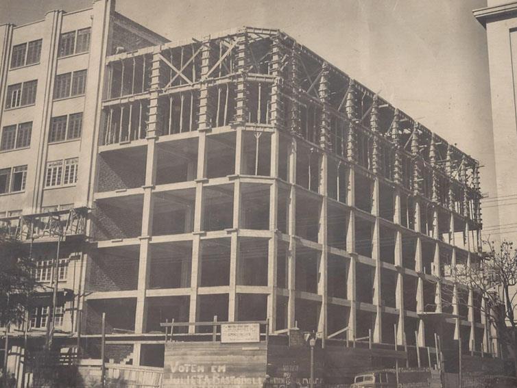 Edifício-sede do SDAERGS é um ícone de Porto Alegre e marco do fortalecimento dos despachantes