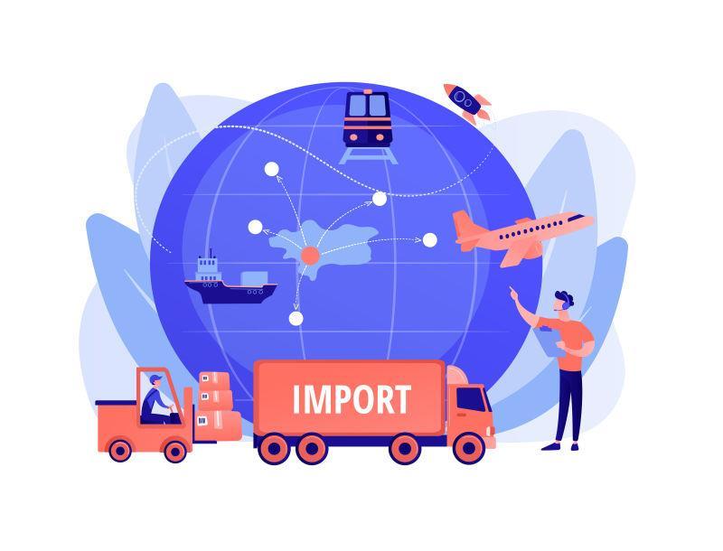 Situação da Logística Internacional: Importação